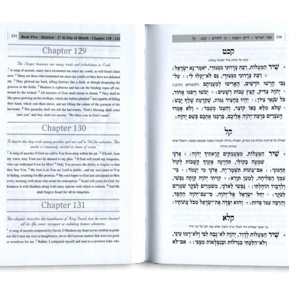 Book Of Psalms - Hebrew & English Bencher Black