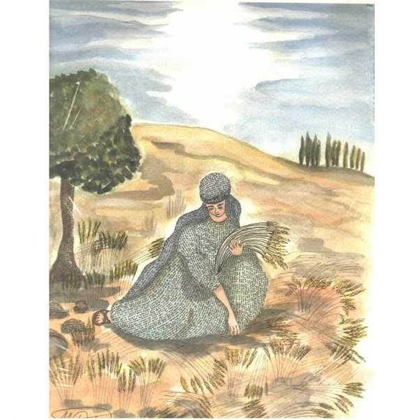 Book Of Ruth Artwork