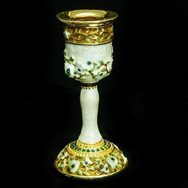 "Candlestick, Jeweled, 4.5"" Single"