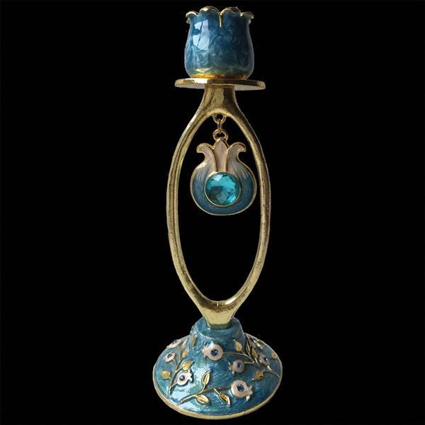 "Candlestick, Jeweled, 7"" Single"