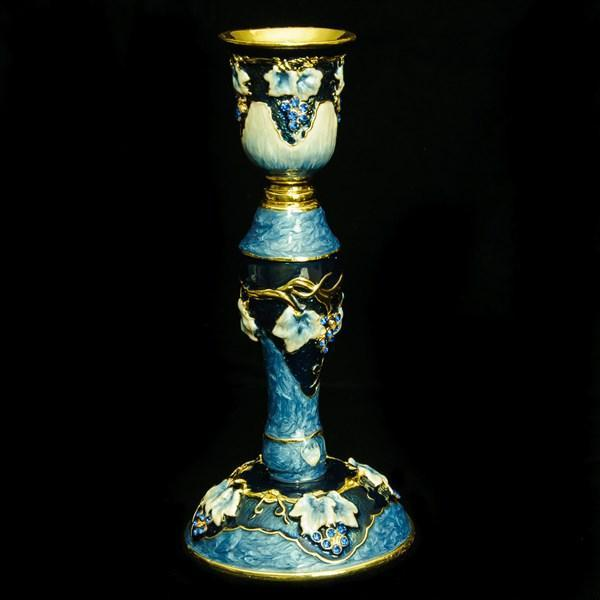 "Candlesticks, Jeweled, 6"" Single"