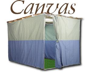 Canvas Material Walls For Sukkah