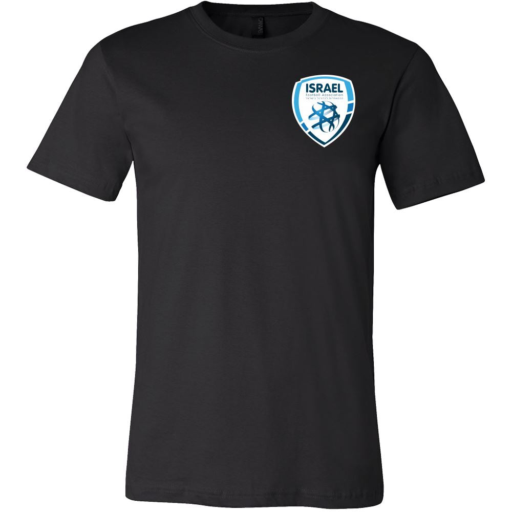 Canvas Men's Shirt Israel Football League T-shirt Canvas Mens Shirt Silver S