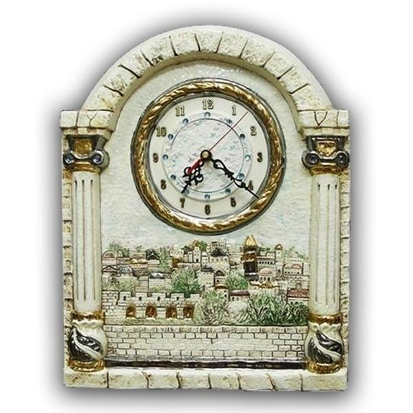 Ceramic Jerusalem Clock