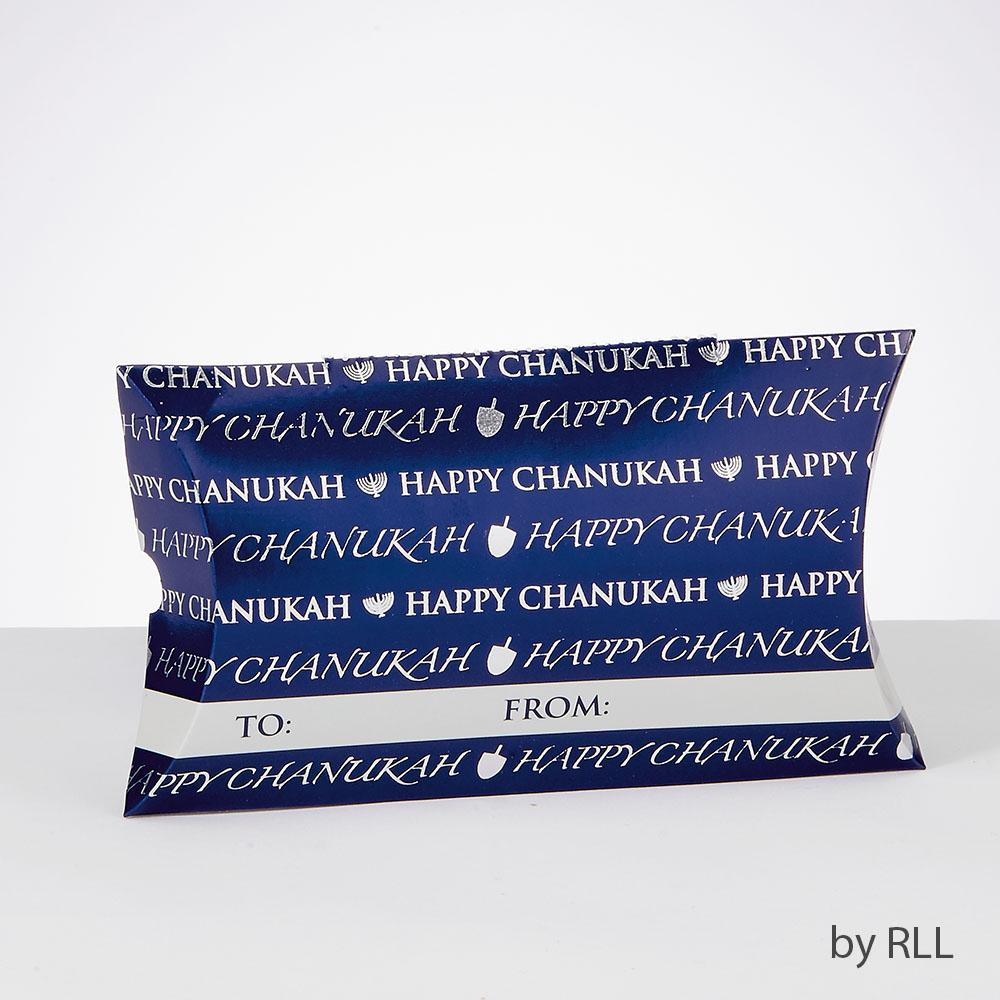 "Chanukah Gift Card Holders,foil Accents,set Of 3,4""x 3"",header HAN"