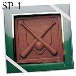 Chocolate Sport Plaques - Kosher