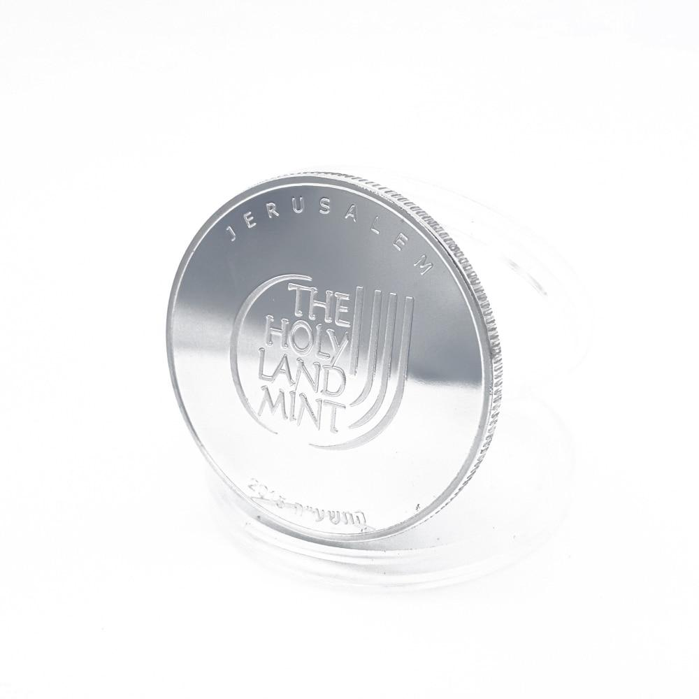 Commemorative Coin Medal Souvenir Dove Peace Jerusalem Coin coins