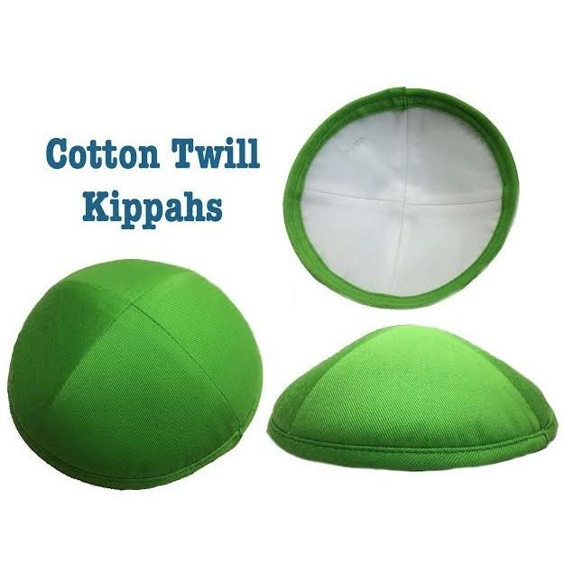 Cotton Kippahs In All Colors Black Same As Kippah