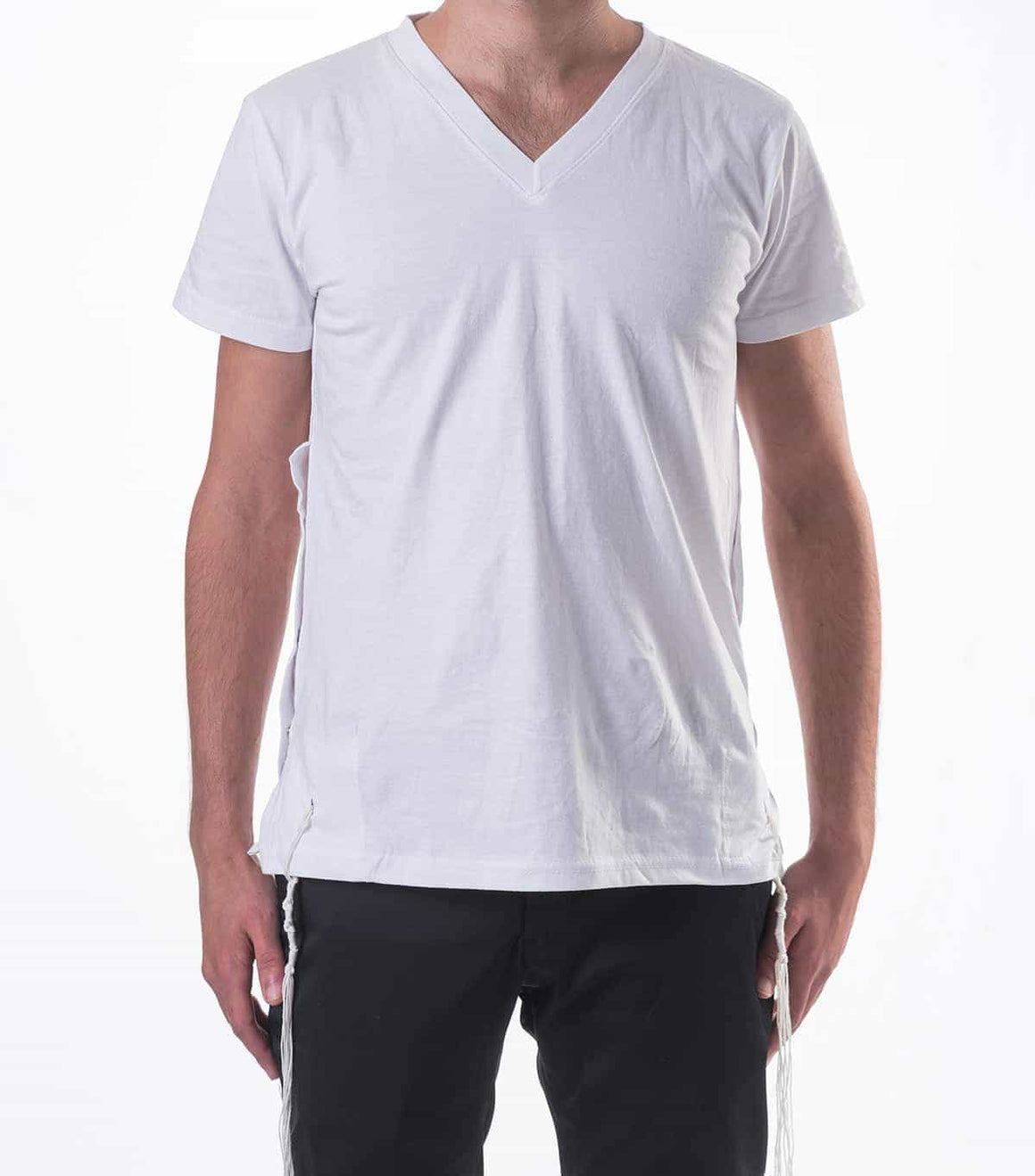Cotton T-Shirt Tzizit Undershirt