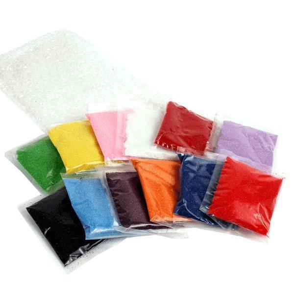 Craft Sand (12 Packs, 12 Colors/Pack)