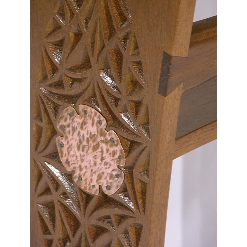 Custom Copper Plate Shtender