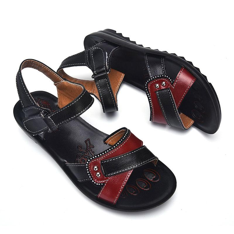 Designer Women Sandals Genuine Leather Summer Leisure footwear