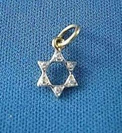 Diamond Mite Star Of David None Thanks