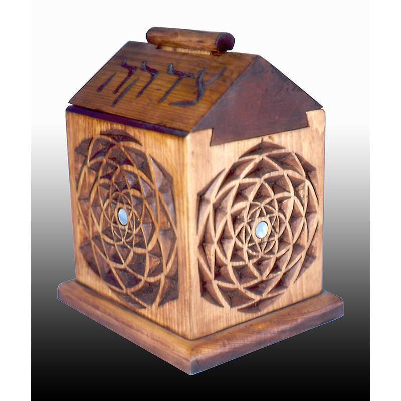 Dovetail Tzedakah Box
