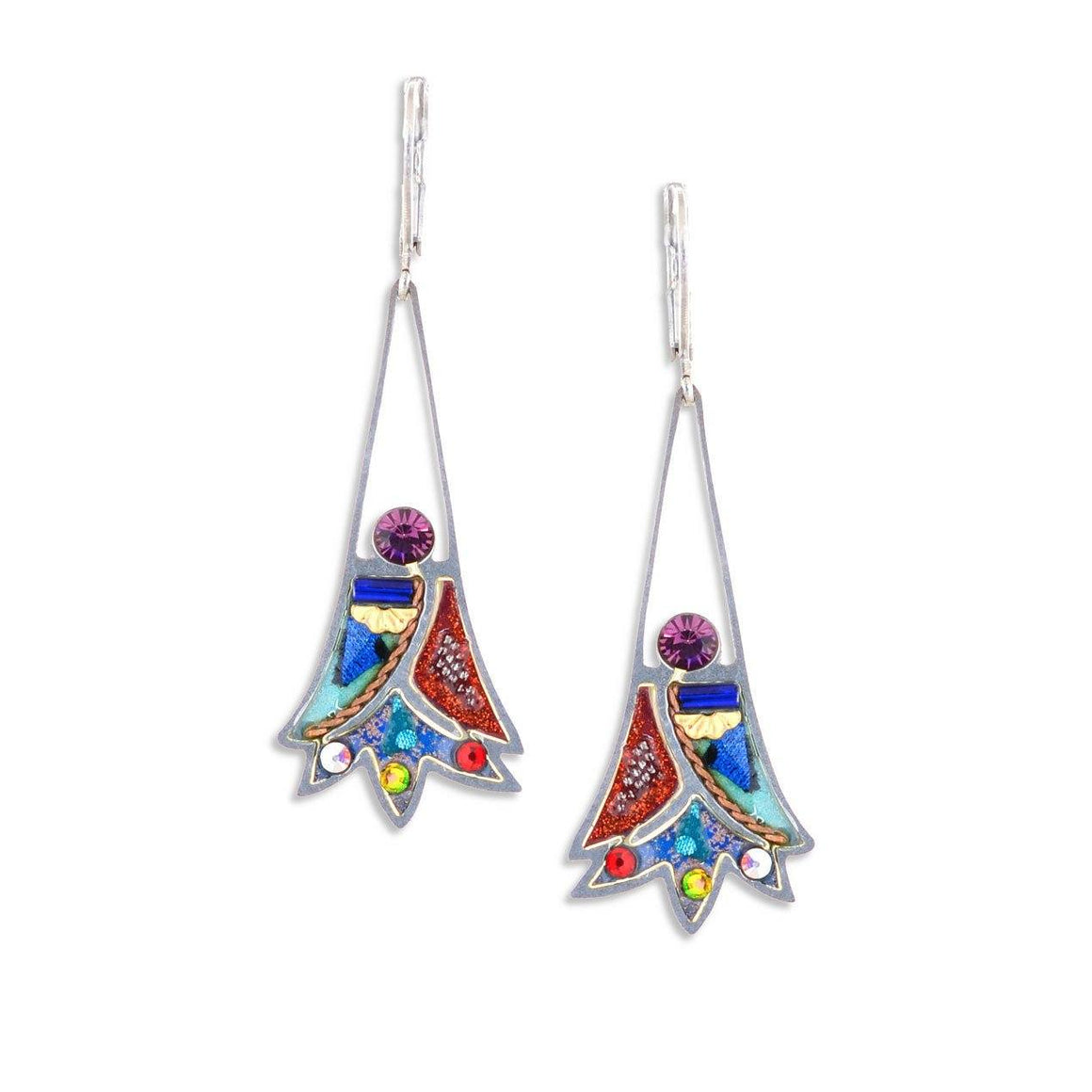 Earrings - Artistic Colorful