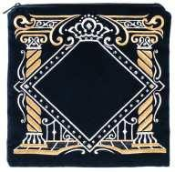 Elaborate Pillars. Available In Large/Extra Large, Black And Navy.