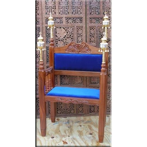 Elegant Wooden Chair For Synagogue