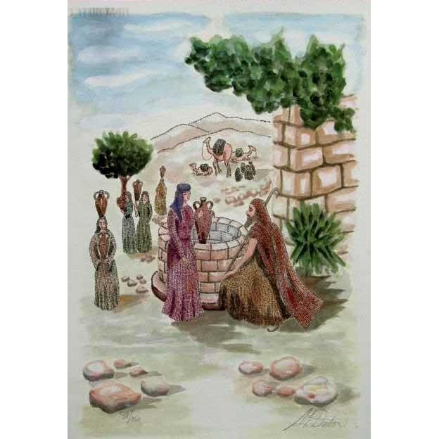 Eliezer & Rebecca By The Well