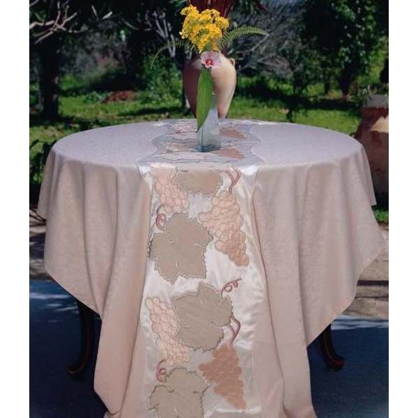 Embroidered Silk Tablecover