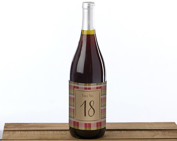 Fall Wine Label Table Numbers (1-20) Fall Wine Label Table Numbers (1-20)