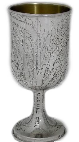 Family Tree Personalized Kiddush Goblet