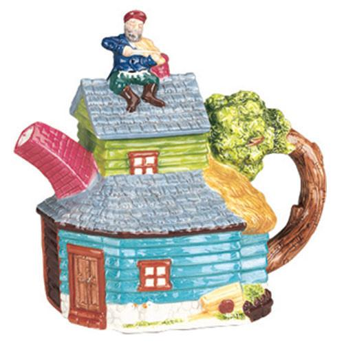 Fiddler Collector'S Mini Teapot Collectibles