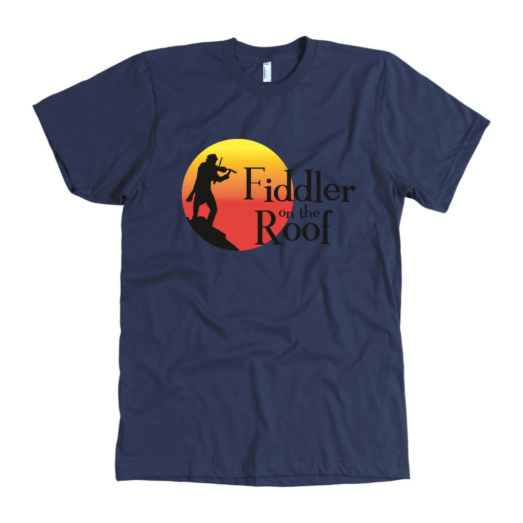 Fiddler on the Roof Men's Shirt In Colors T-shirt American Apparel Mens Black S