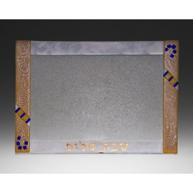 Fused Glass Shabbat Platters
