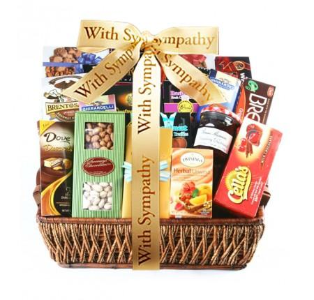 Grand Gourmet Deluxe Sympathy Gift Basket Gift Basket