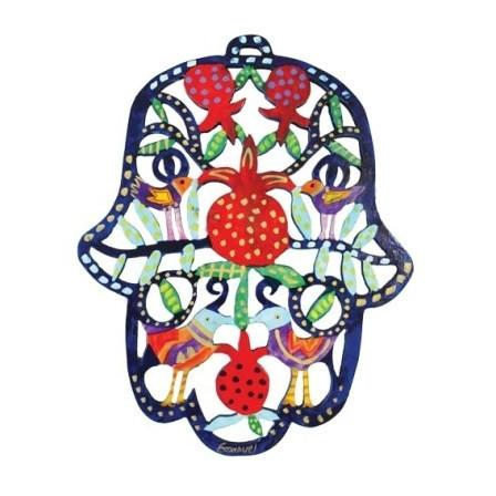 Hamsa- Beautiful Wooden Cutout