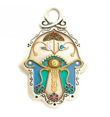 Hamsa Hand Wall Hanging Colorful