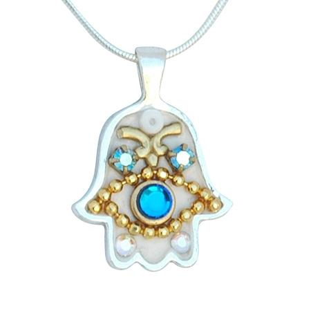 Hamsa Necklace - Unique Bat Mitzvah Gifts Bat Mitzvah Hamsa