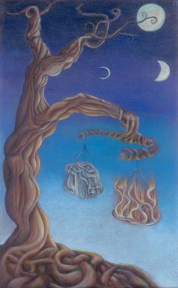Hanging in the Balance - Artwork Rosh Hashanah