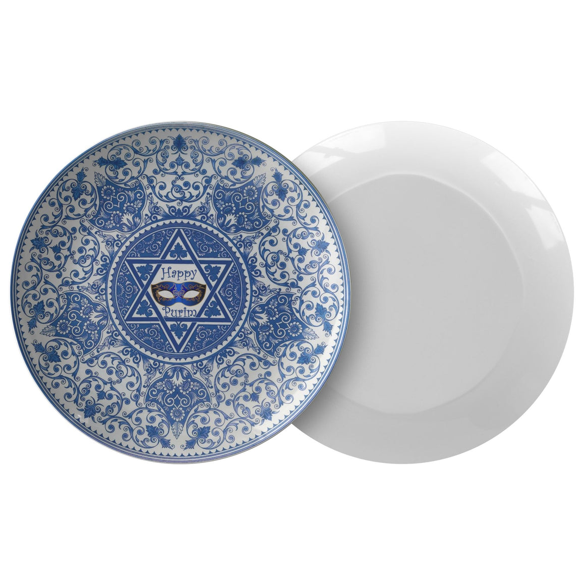 Happy Purim Serving & Dinner Plates Dinnerware Single Plate