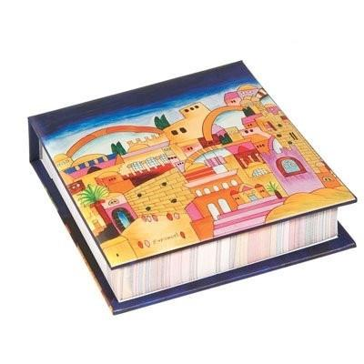 Hard Cover Memo Pad - Jerusalem