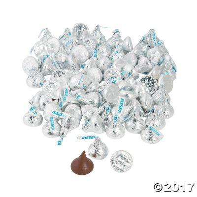 Hershey Kisses Kosher in Colors Blue