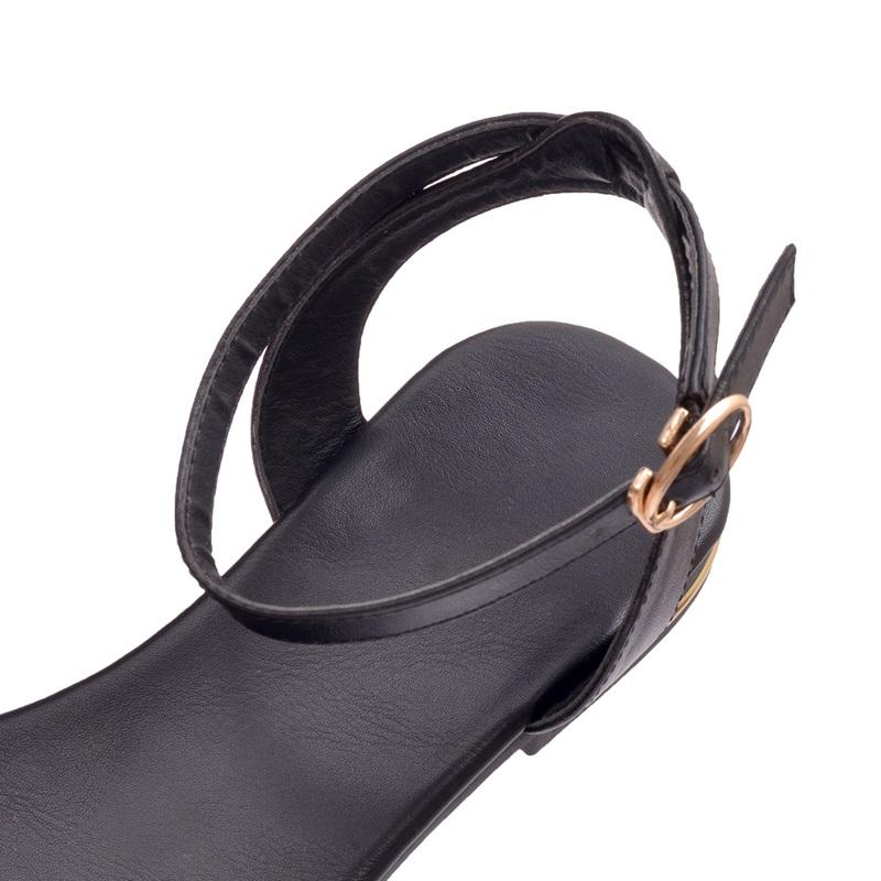Israeli Plus size 34-43 new high quality genuine leather sandals