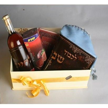 Israeli Purim Gift Box Filled