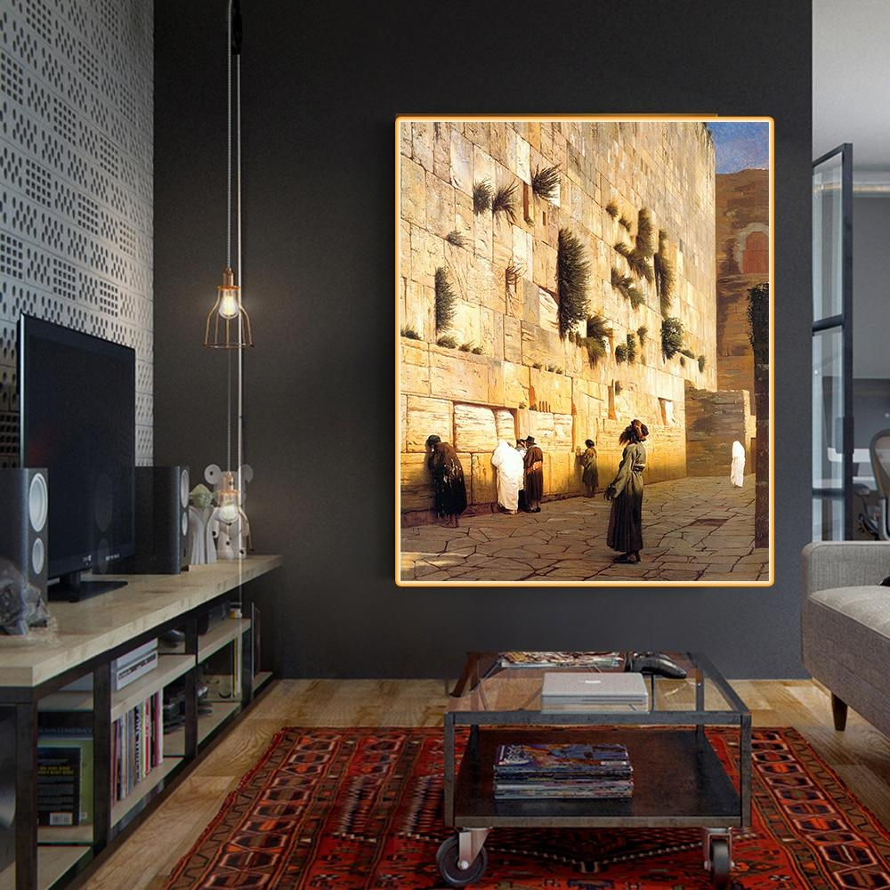 Jerusalem Canvas Oil Painting Wall Art art