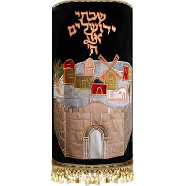 Jerusalem Walls Torah Mantle