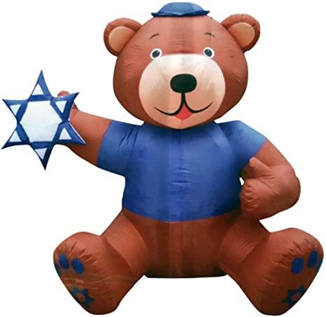 Jewish Event Inflatable Decor With Kippah ! 6 1/2' Tall!