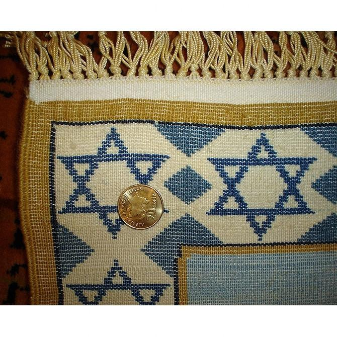 Jewish Tapestry -Moshe With Tablets &Kabbalah