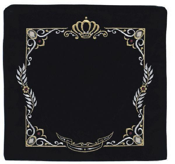 Large Square Design. Available In Black/Navy And Different Sizes.