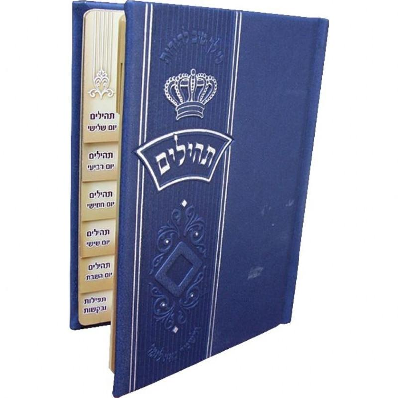 Leather Siddur Prayer Books Blue