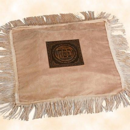 Luxury Passover Leather Matza Cover