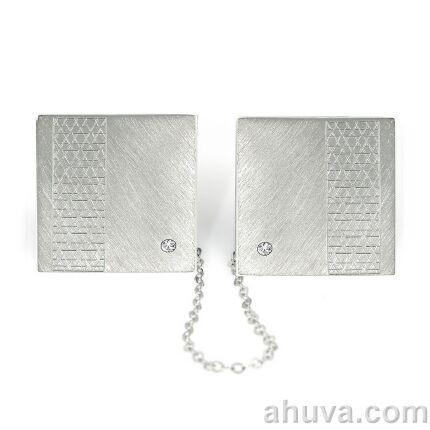 Magen David Star Of David Tallit Clips Set