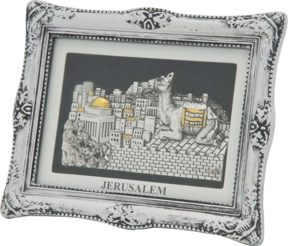 Magnet Jerusalem Silver with Frame Item No. 2538 Magnet Jerusalem Silver with Frame Size Cm. 06x09