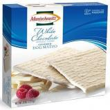 Manischewitz White Chocolate Coated Egg Matzo (Dairy) 8 oz