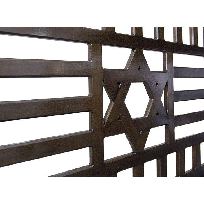 Mechitzah Synagogue Temple Divider _ Star of David.