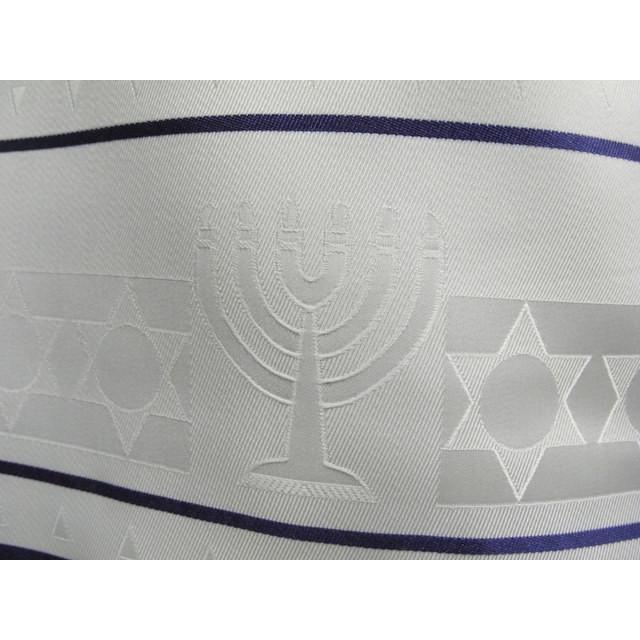 Menorah Jacquard Woven Tallit For Children